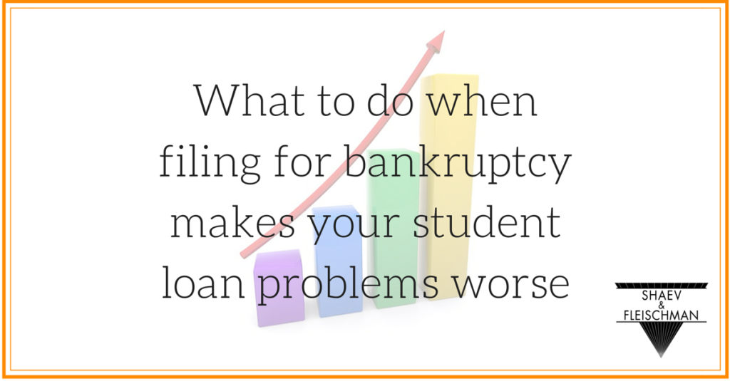 bankruptcy makes student loans worse