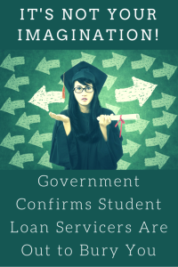cfpb student loan servicing report (pinterest)